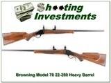 Browning Model 78 Heavy Barrel 22-250