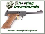 Browning Challenger 1973 Belgium 6in 22LR Exc Cond! - 1 of 4