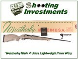 Weatherby Mark V Ultra Lightweight 7mm Wthy Mag for sale
