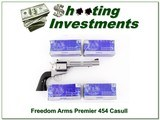 Freedom Arms Premier Grade 454 Casull with ammo for sale