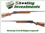 Browning A5 1950 GRADE 4 factory engraved 12 Gauge for sale
