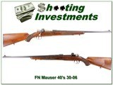 FN Mauser Supreme late 40's 30-06 for sale - 1 of 4