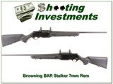 Browning BAR MARK II Stalker 7mm Rem Mag! for sale - 1 of 4
