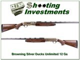 Browning Silver Ducks Unlimited 12 Ga unfired! for sale - 1 of 4