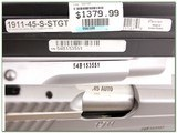 Sig Sauer 1911 SUPER TARGET Stainless 45 ACP - 4 of 4
