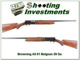 Browning A5 20 Ga 61 Belgium VR Exc Cond! - 1 of 4