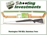 Remington 700 BDL Stainless 7mm Rem in box! - 1 of 4