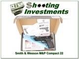 Smith & Wesson M&P Compact 22LR Supressor ready NIB for sale