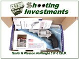 Smith & Wesson 317 Airweight 22LR ANIB for sale