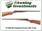 New England Firearms Partner SB1 12 Ga 3in 28in Mod for sale