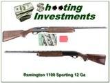 Remington 1100 Sporting 12 Gauge 2011 Great Eastern for sale