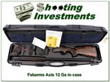 Fabarms Axis RS 12 Ga 32in ANIC for sale