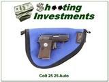 Colt Automatic 25ACP for sale