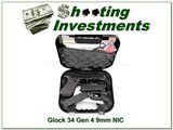 Glock 34 Gen 4 9mm new & unfired in case for sale
