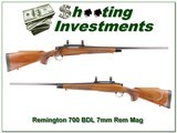 Remington 700 BDL 7mm Rerm Mag for sale