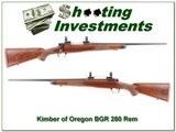 Kimber of Oregon BGR hard to find 280 Remington