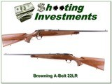 Browning A-Bolt 22LR Exc Cond - 1 of 4
