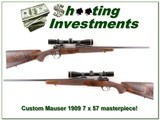 Custom Mauser 7x57 built by Joe Balickie in 1974 for sale