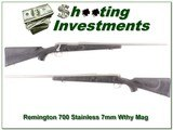 Remington 700 Stainless RARE 7mm Wthy Mag for sale - 1 of 4