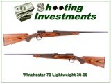 Winchester Model 70 Laminate Lightweight 30-06 for sale - 1 of 4