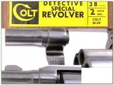Colt Detective Special 2in 38 in box! - 4 of 4