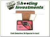 Colt Detective Special 2in 38 in box! - 1 of 4