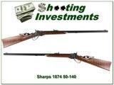 C. Sharps 1874 heavy barrel Hartford collar 50-140 for sale - 2 of 5