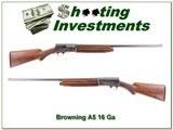 Browning A5 1949 Belgium 16 Gauge - 1 of 4