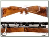 Custom German Mauser in 25-06 with 4X Swift Scope - 2 of 4