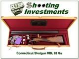 Connecticut Shotgun RBL 28 Ga in case for sale - 1 of 4