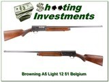 Browning A5 Light 12 51 Belgium all original for sale - 1 of 4