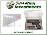 Sig Sauer P220 made in West German in box! for sale