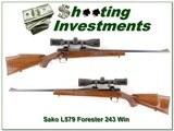 Sako L579 Forester Bofer Steel 308 w Nikon