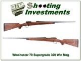 Winchester Model 70 Super Grade 300 Win Mag