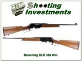 Browning BLR in the hard to find 348 Win 20 in - 1 of 4
