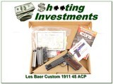Les Baer Custom 45 ACP in box 6 Magazines - 1 of 4
