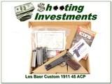 Les Baer Custom 45 ACP in box 6 Magazines