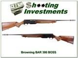 Browning BAR Safari II 300 Win Mag Exc Cond BOSS