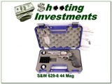 Smith & Wesson 629-8 44 Magnum 4in Stainless in case - 1 of 4