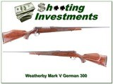 Weatherby Mark V Deluxe German 300 - 1 of 4