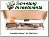 "Franchi Affinity 12ga, 3.5"" Bottom Land Camo in box"