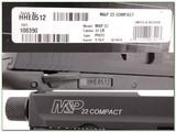 Smith & Wesson M&P Compact 22LR Supressor ready NIB - 4 of 4