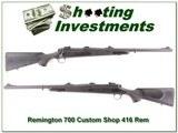 Remington 700 Custom Shop 416 Rem Mag - 1 of 4