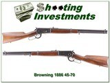 Browning 1886 45-70 22in Carbine