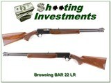Browning BAR 22 LR early machined steel - 1 of 4