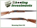 Browning Citori 410 bore 26in IC & Mod Exc Cond - 1 of 4