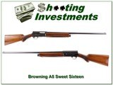 Browning A5 Sweet Sixteen 54 Belgium Exc Cond! - 1 of 4