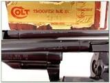 Colt Trooper Mark III 22LR Blued 8in ANIB - 4 of 4