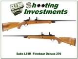 Sako Finnbear L61R Deluxe 270 Win Exc Cond! - 1 of 4