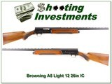 Browning A5 Light 12 63 Belgium 26in VR IC - 1 of 4